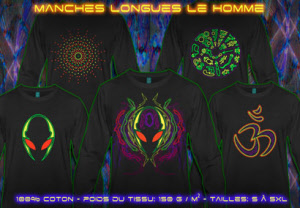 Hommes TEE-SHIRT MANCHES LONGUES