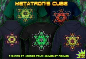 Métatron Néon Hoodies De Et Couleur Cube Chemises Avec OuPXikTZ