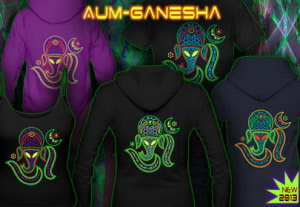 Aum Ganesha: T-Shirts Tops and Hoodies for Women