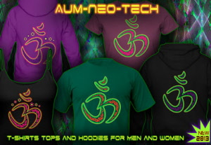 Aum Neo-Tech: T-Shirts Tops Hoodirs and Jackets
