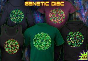 Genetic Disc: Shirts Tops and Hoodies