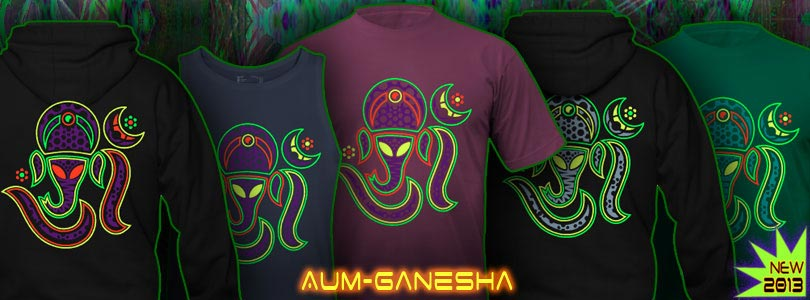 Aum Ganesha T-Shirts and Hoodies for Men