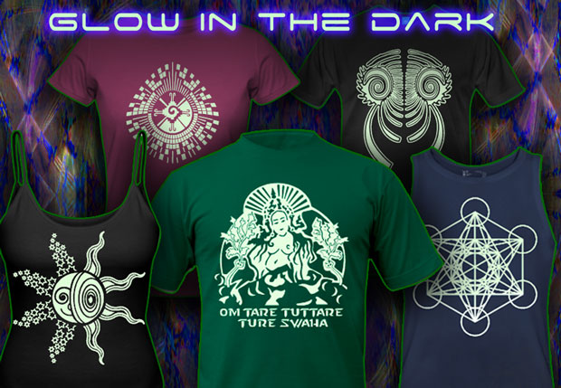 glow in the dark t-shirts and hoodies