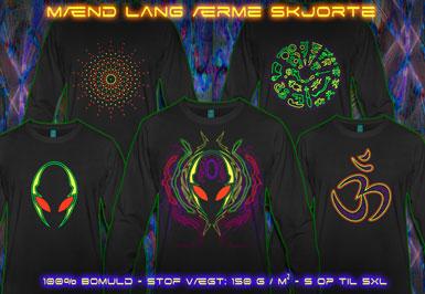 psywear604 Herrer Langærmet T-Shirt