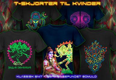 psywear604 psykedeliske t-skjorter  Damer T-Shirts