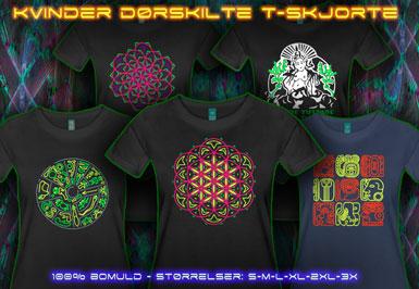 psywear604 psykedeliske klæder Damer Mænd T-Shirt XL