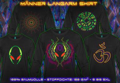 psywear604 Langarm T-Shirt für Herren