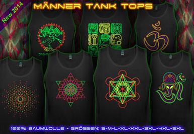 psywear604 Tank Tops für Männer