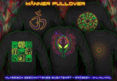 psywear604 Pullover für Männer