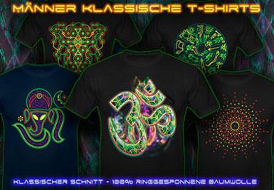 Goa Kleider | psywear604 Klassische t-shirts für Männer