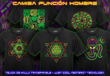 psywear604 camiseta función transpirable para hombres
