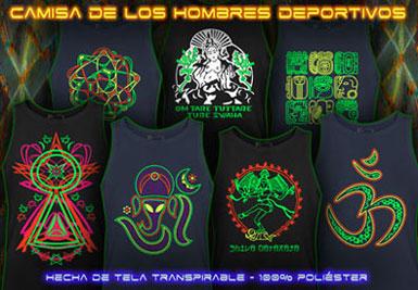 psywear604 Camisa del deporte de los hombres