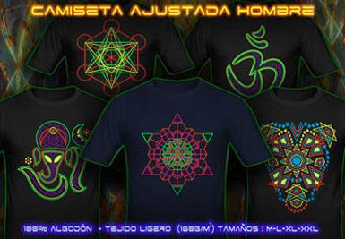 psywear604 Camiseta Ajuste Delgado para Hombre