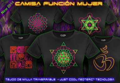 psywear604 camiseta función transpirable para mujeres