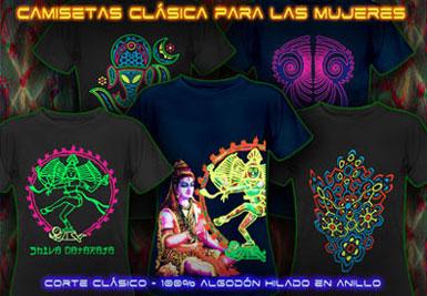 psywear604 ropa psicodélico | Camisetas de corte Clásico para Mujeres