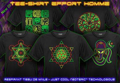 psywear604 T-Shirt Effort pour Hommes