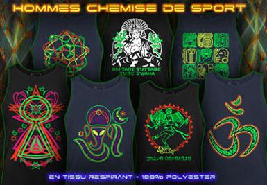psywear604 Chemisier de Sport
