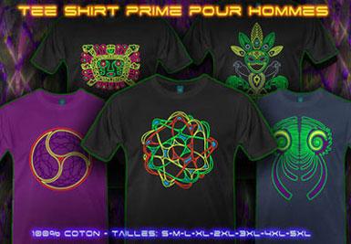 Psywear604 Chemise Goa | XL Tee shirts pour homme