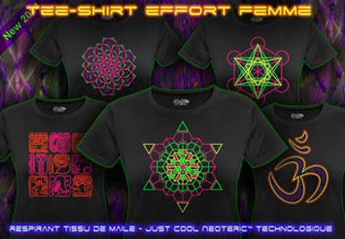 psywear604 T-Shirt Effort pour Femmes