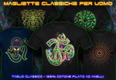 Negozio Psichedelicio | psywear604 classic t-shirts for men