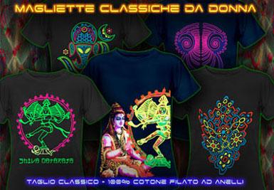 Negozio Psichedelicio | psywear604 classic t-shirts for women