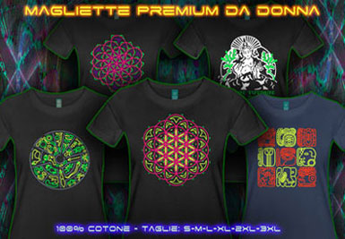 Maglietta Goa | psywear604 XL t-shirts per donne
