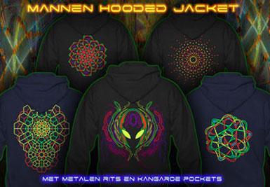 psywear604 hooded jackets voor mannen