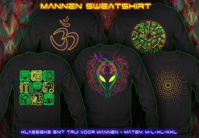 psywear604 sweatshirt voor Mannen