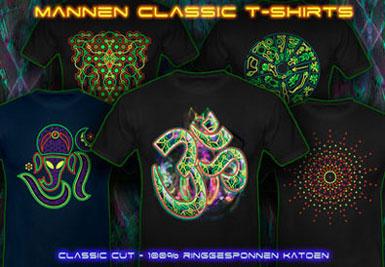 psywear604 psychedlische t-shirts voor mannen
