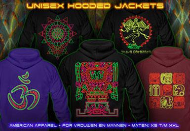 psywear604 capuchon jacket voor mannen en vrouwen