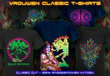 psywear604 psychedlische t-shirts met voor vrouwen