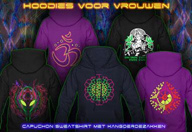 psywear 604 hoodies voor vrouwen