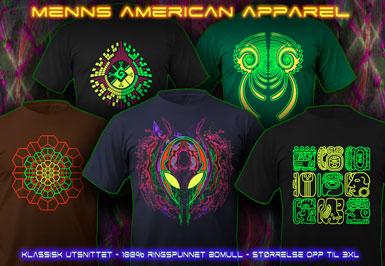 psywear604 menn American Apparel t-skjorte