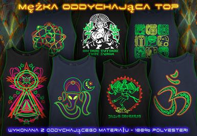 psywear604 Koszulka Sportowa dla Mężczyźn