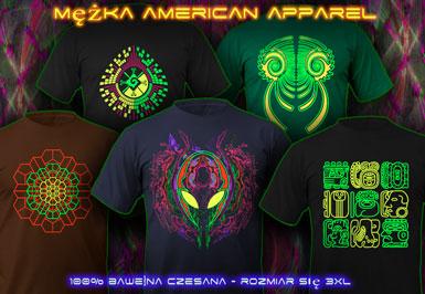 psywear604 koszulka american apparel t-shirts dla Mężczyźni