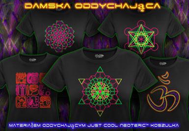 psywear604 koszukla oddychający dla Kobiety