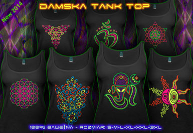 psywear604 tank top dla Kobiety