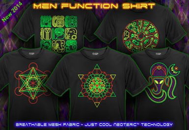 psywear604 breathable function goa t-shirts for men