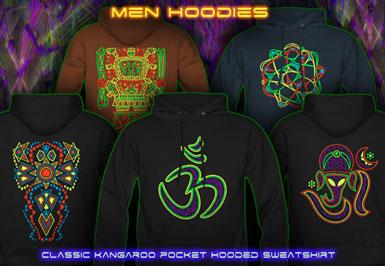 psywear604 psytrance clothing | hooded sweatshirt for men