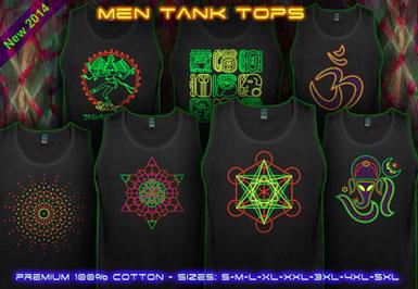 psywear604 tank top for men