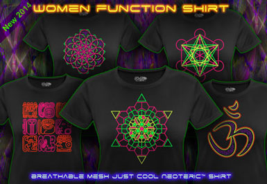 psywear604 breathable function goa t-shirts for women