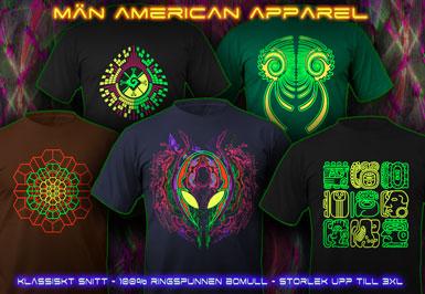 psywear604 Män T-Skjorta American Apparel